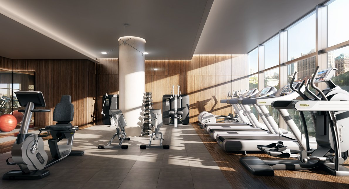 State Of The Art Fitness Center Interior Design Ideas
