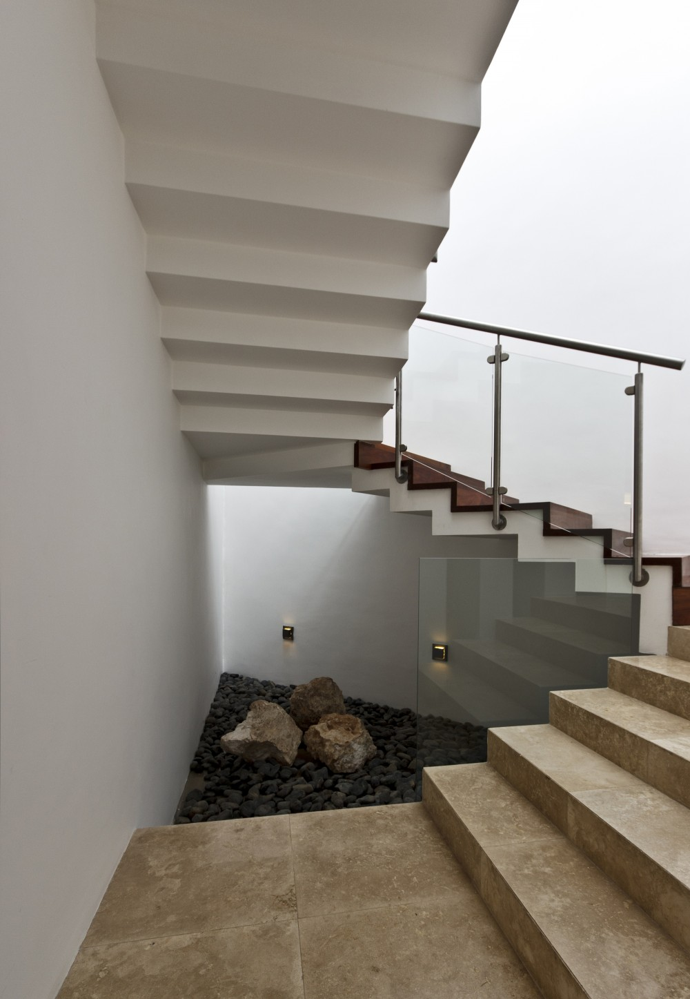 Modern Stairwell - Modern work of mexican architecture