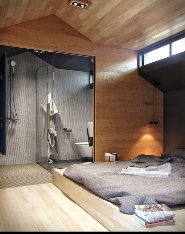 Another stylish open plan en suite.