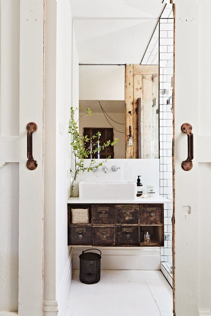 Bathroom vanity ideas for Salle de bain cottage