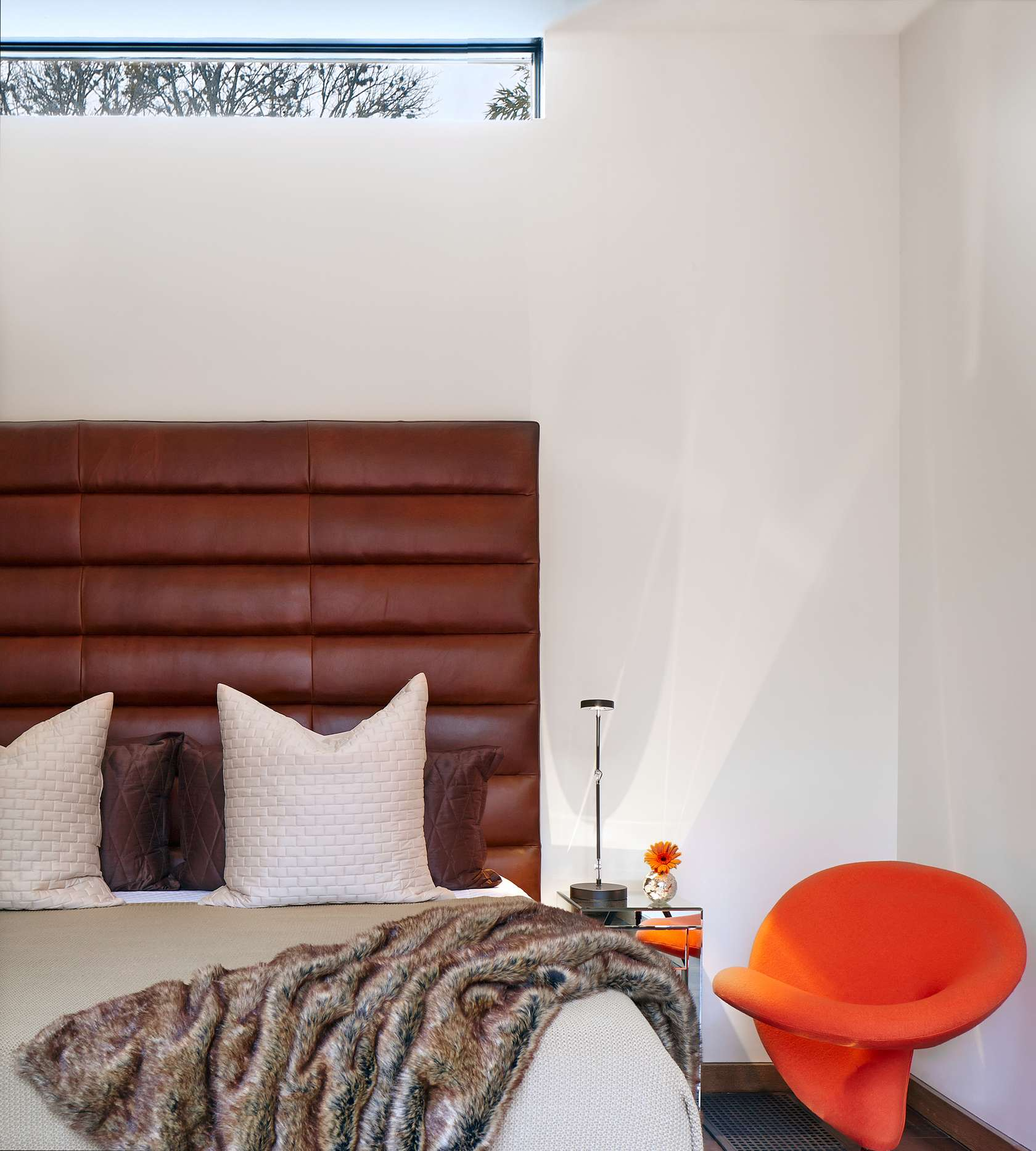 Modern Bedroom - Environmentally responsible home san antonio