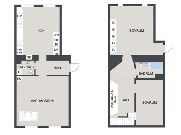 Scandinavian home plan