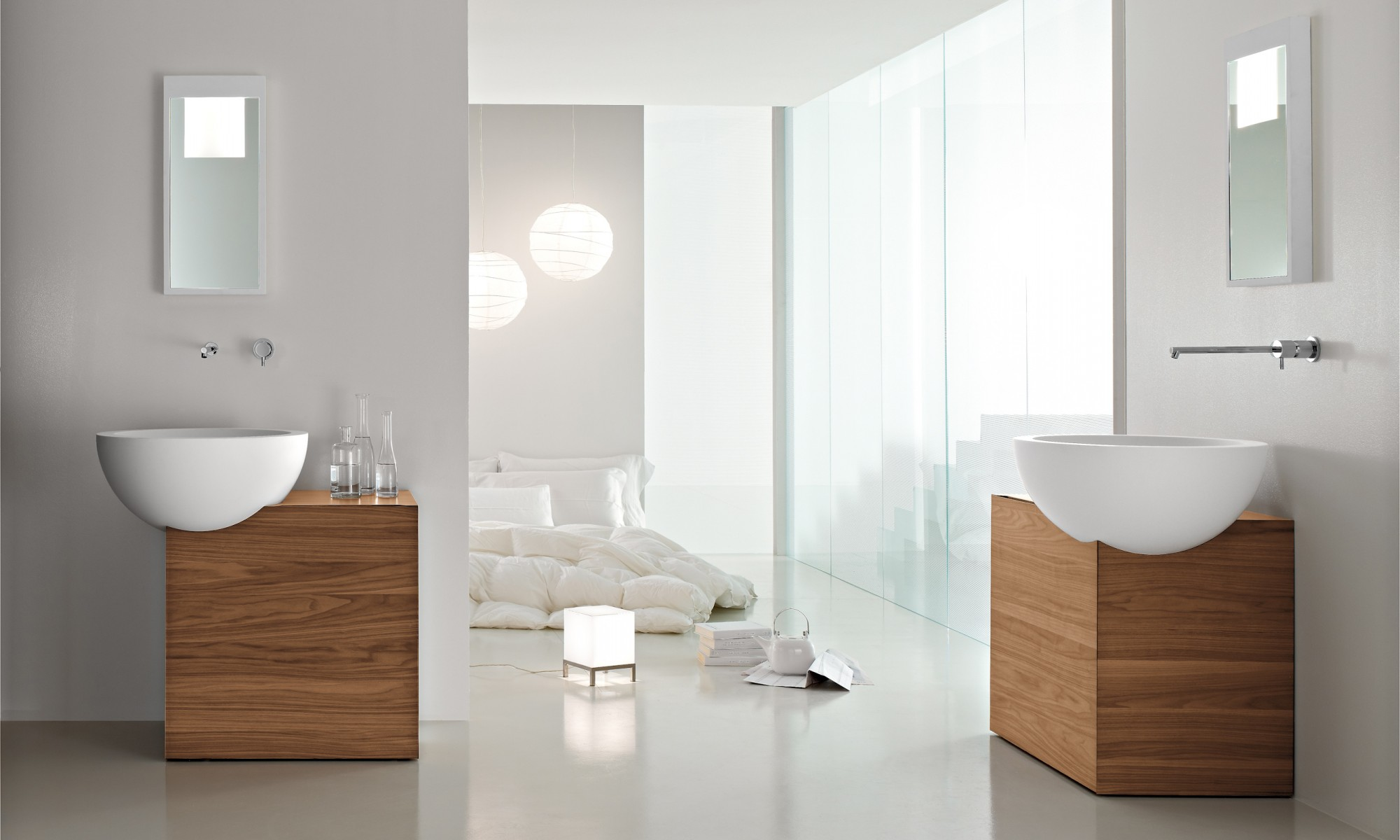 ultra modern italian bathroom design - Modern Bathroom Sink Designs
