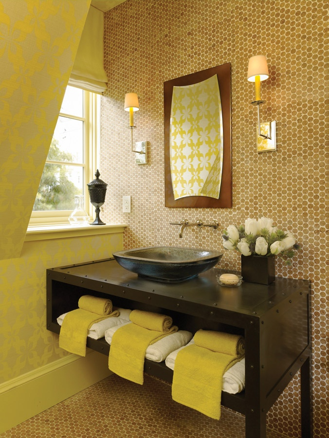 Light Yellow Bathroom Accessories bathroom vanity ideas