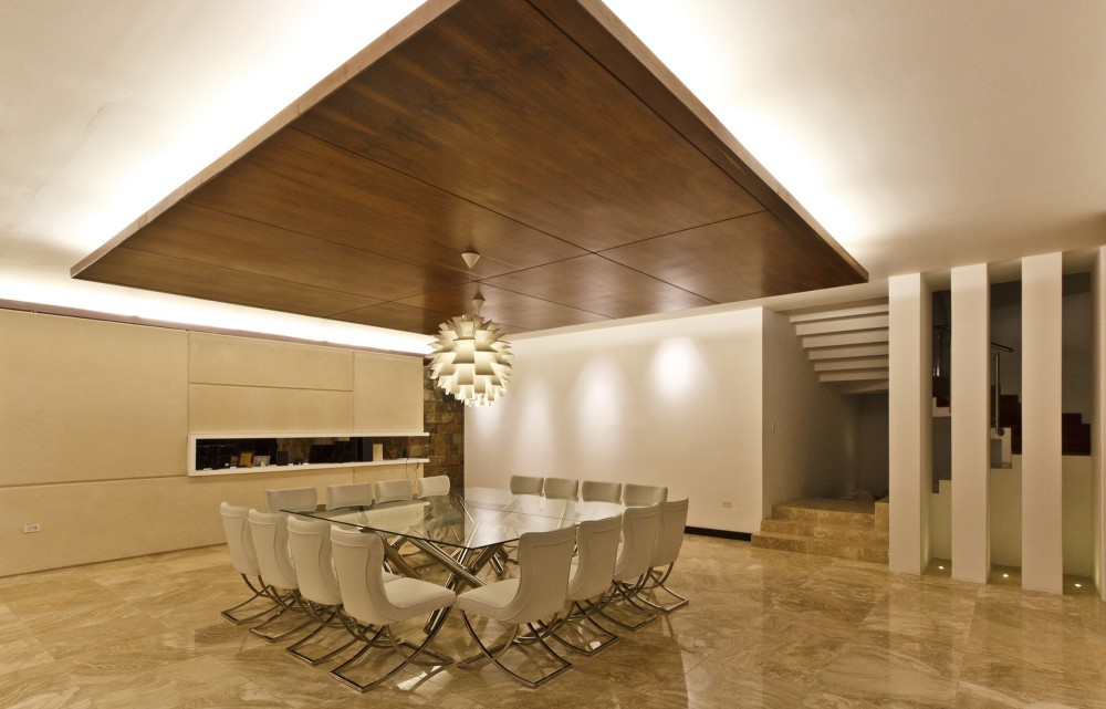 Square Dining Suite - Modern work of mexican architecture