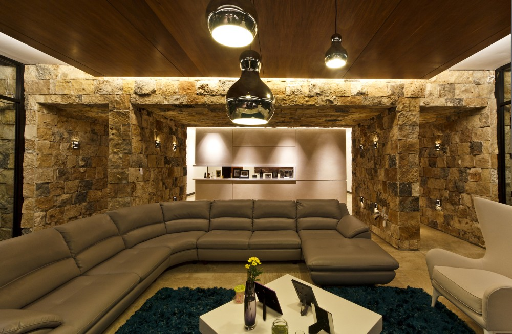 Modern Living Room Decor - Modern work of mexican architecture