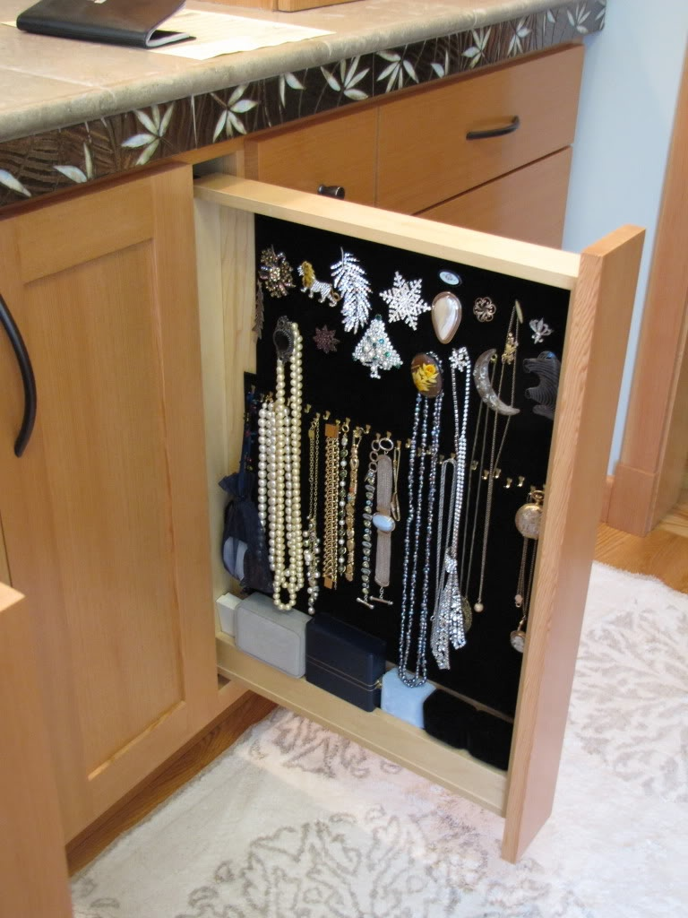 Jewelry organizer Interior Design Ideas