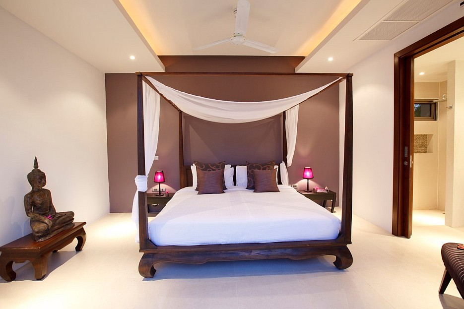 Asian style bedroom | Interior Design Ideas.