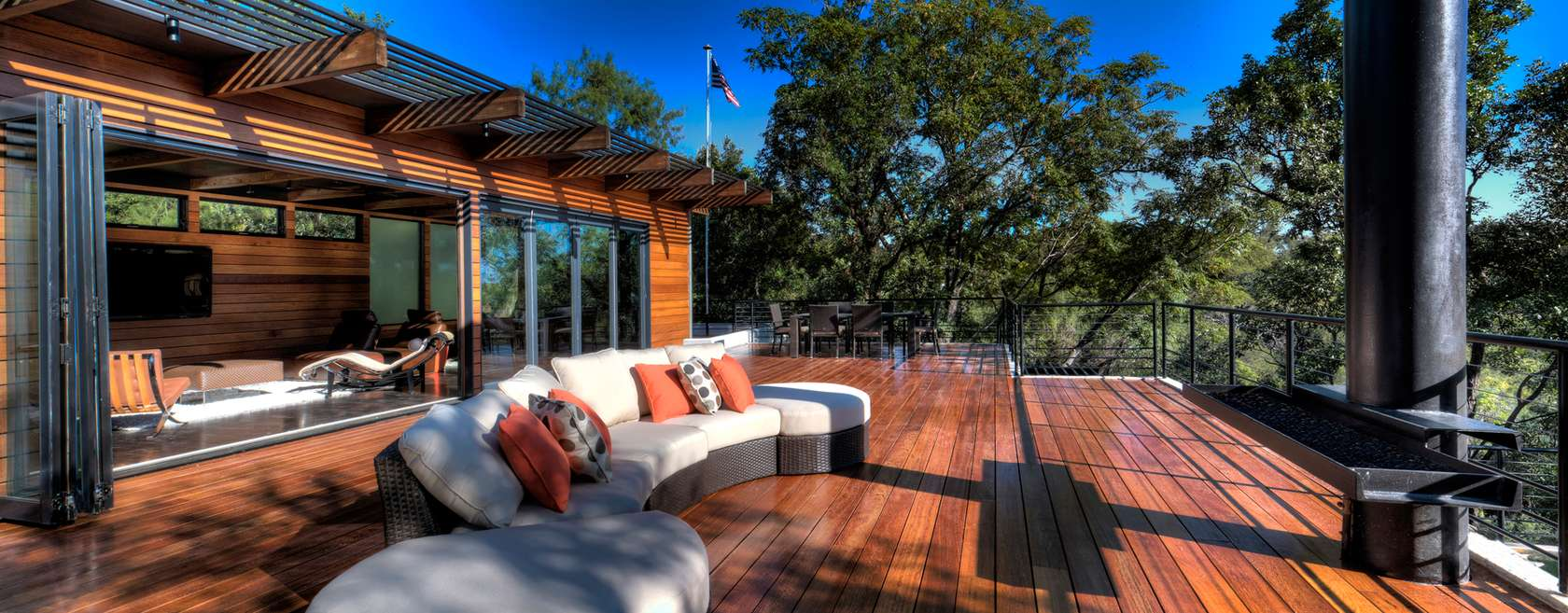 Outdoor Couch - Environmentally responsible home san antonio