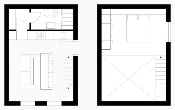 Kitchen diner plan