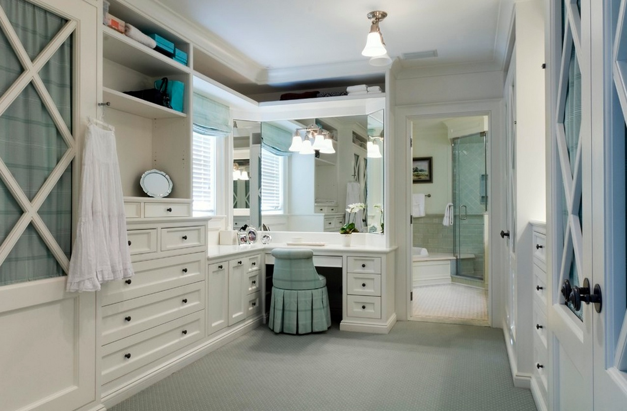 Bathroom With Closet Design Ideas ~ Bathroom vanity ideas