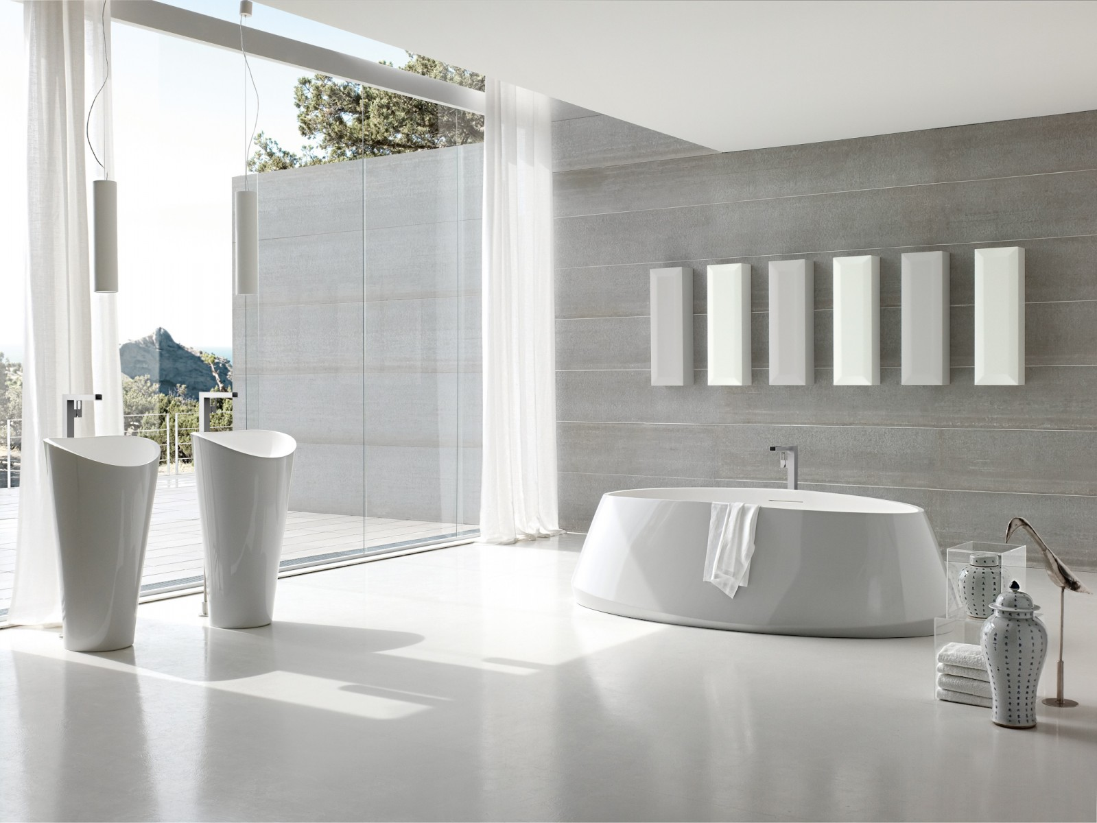 ultra modern italian bathroom design - Modern Bathroom Designs