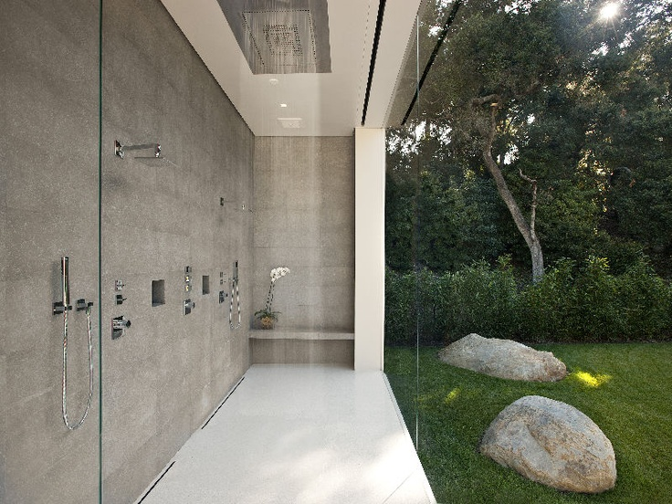 Shower room design for Bathroom designs open showers