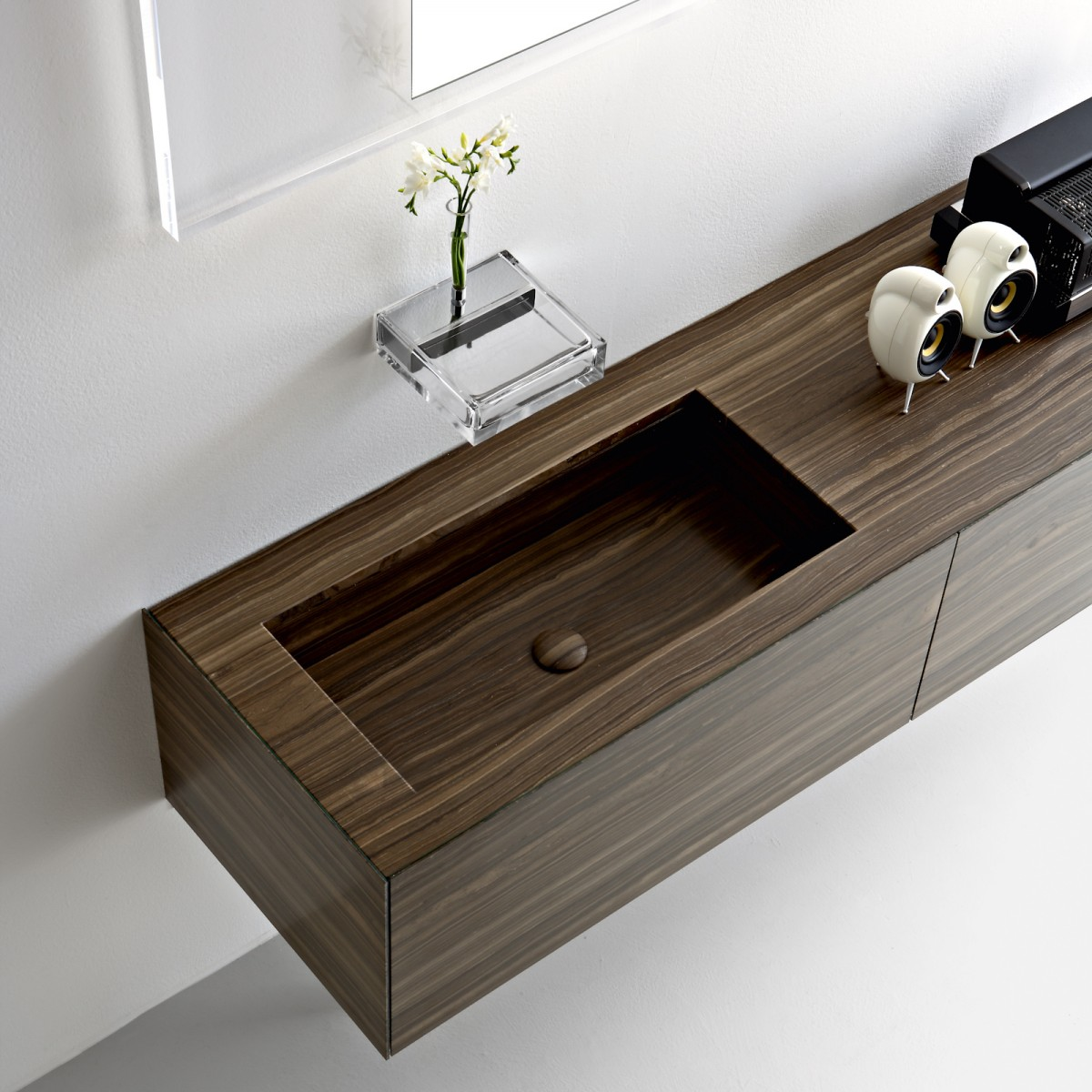 Ultra Modern Italian Bathroom Design - Wall mount vanities for bathrooms