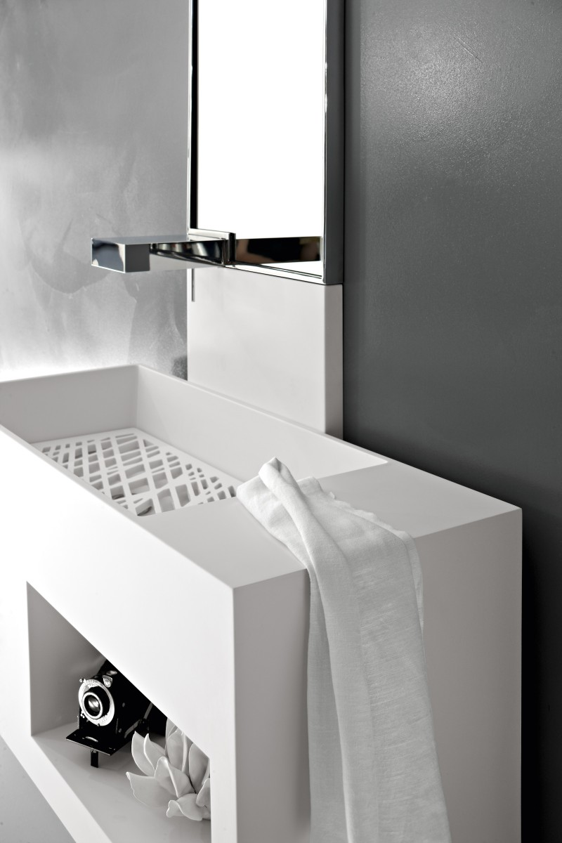 Italian Bathroom Suites Modern Basin