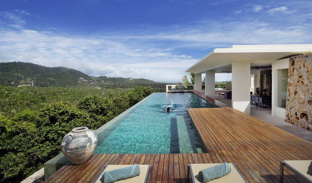 A paradise of a place koh samui video for Private swimming pool