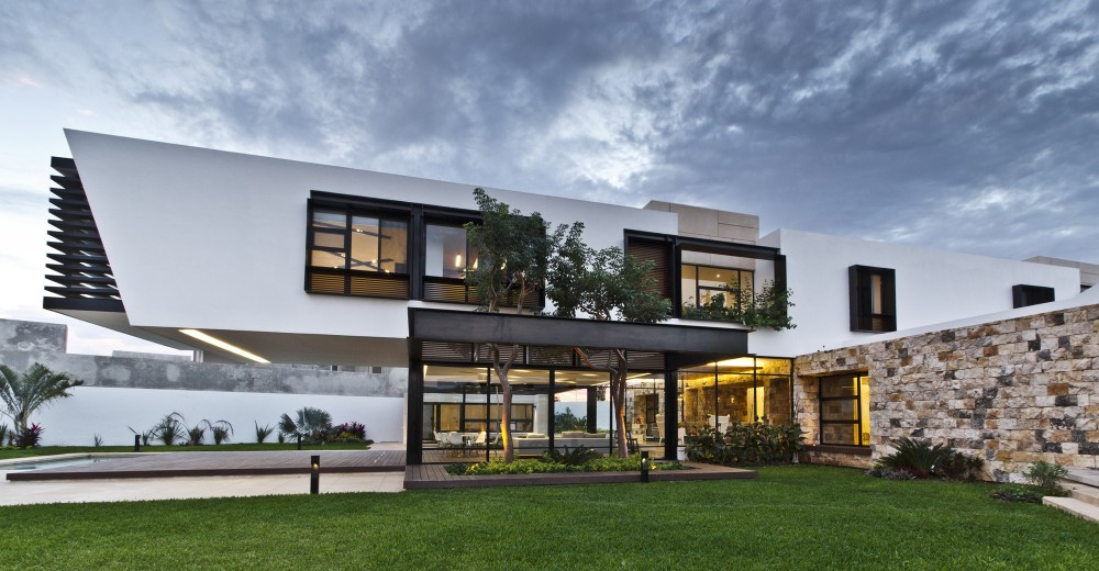 Modern work of mexican architecture for Casa de arquitectos