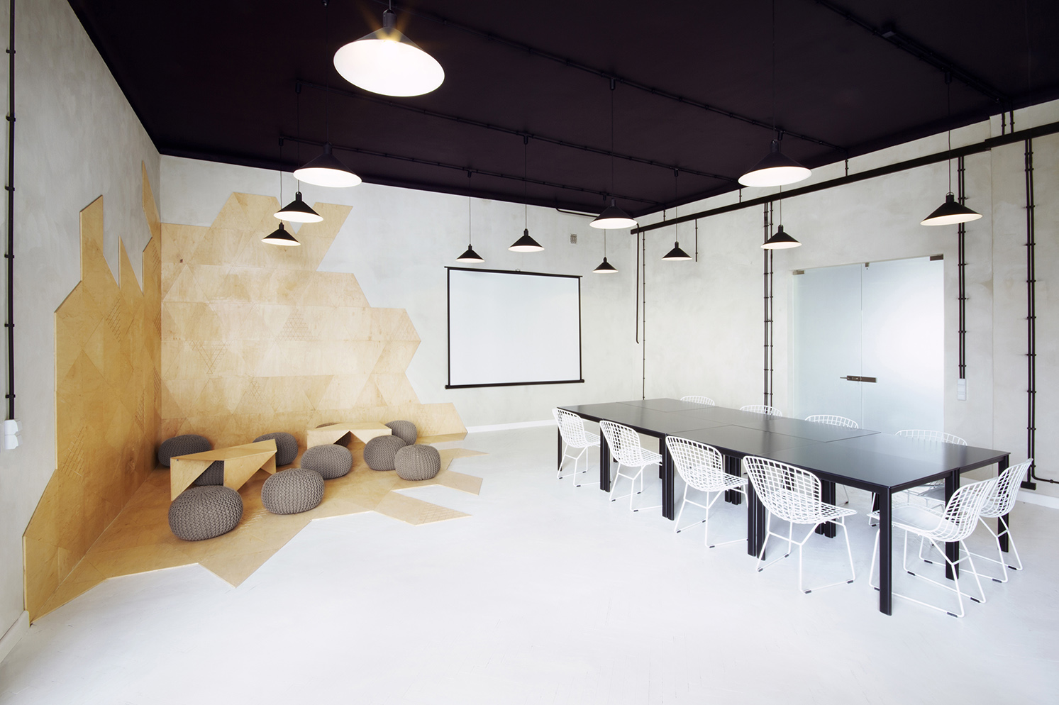 Informal meeting room interior design ideas for Meeting room interior design ideas