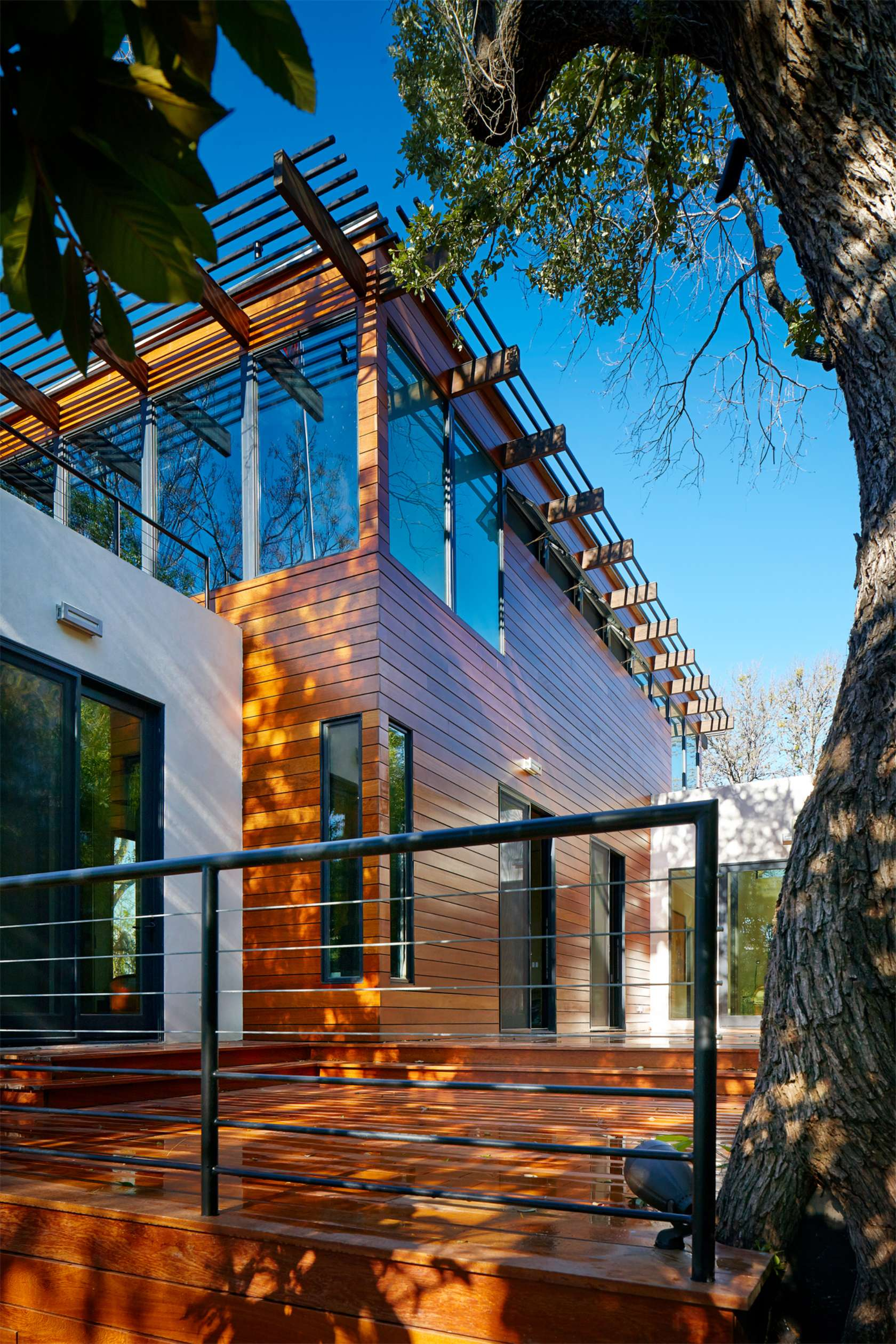 Modern Home Exterior - Environmentally responsible home san antonio