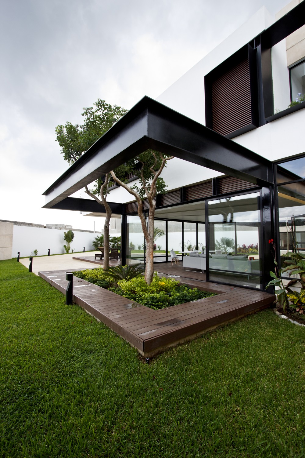Deck Garden - Modern work of mexican architecture