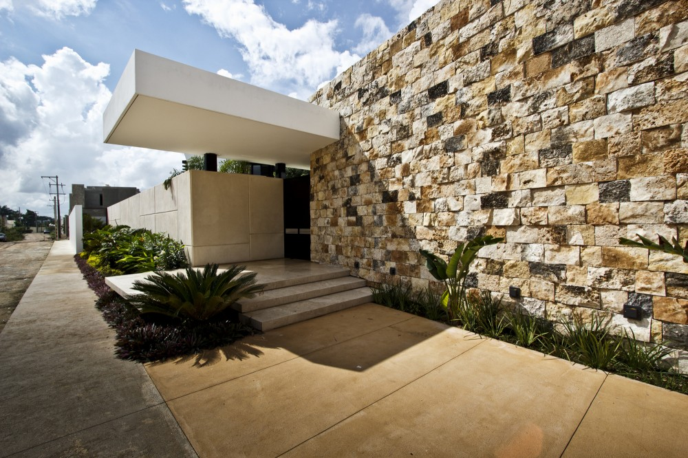 Contemporary Home Exterior - Modern work of mexican architecture