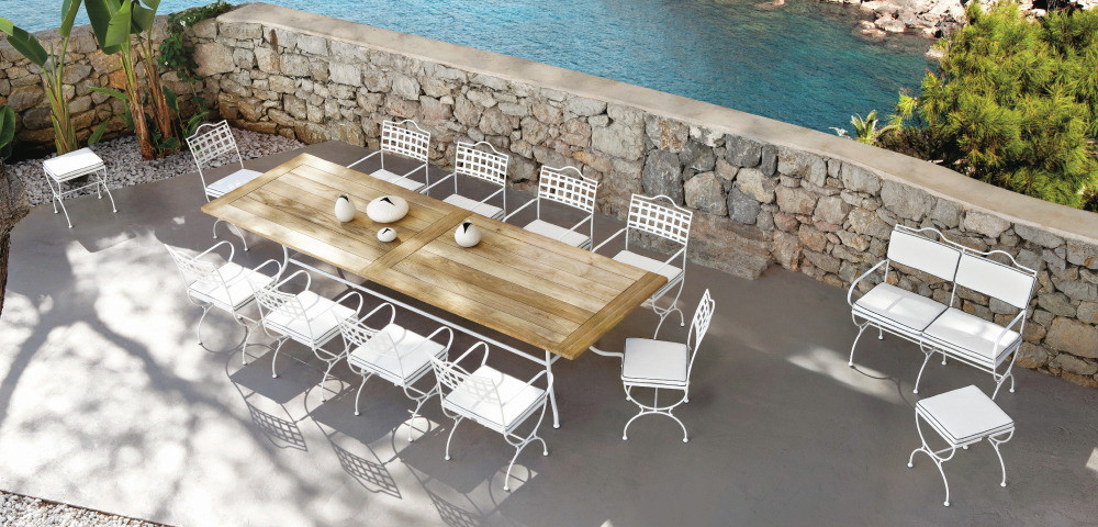 Good Transitional Outdoor Dining Sets by Safavieh