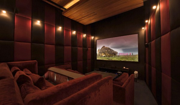 Catch a movie in the homes very own high-tech 3D cinema room with state-of-the-art sound system.