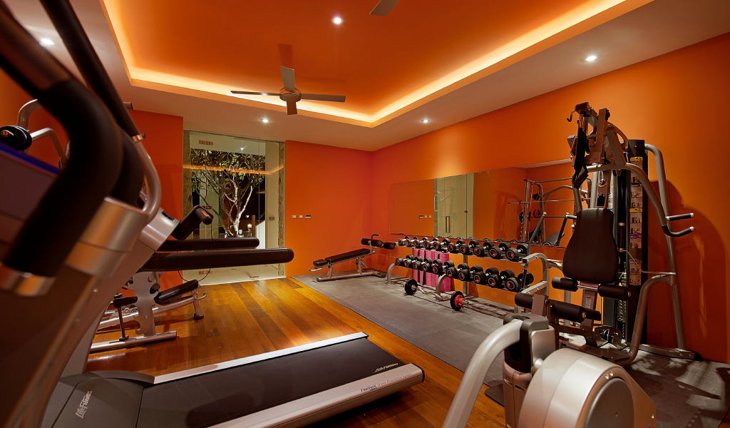 Villa gym interior design ideas
