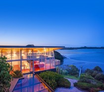 The harbour entrance, Kerikeri Inlet, rural farmland, and a boutique Olive Grove of 650 trees that is part of the property, all add to the surrounding soothing panorama.