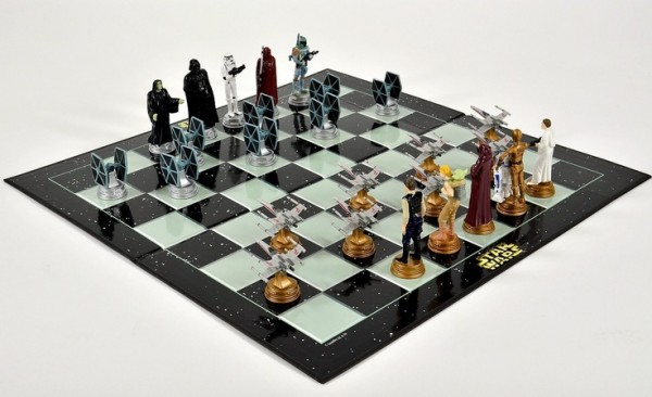 ...As would this Star Wars chess set.