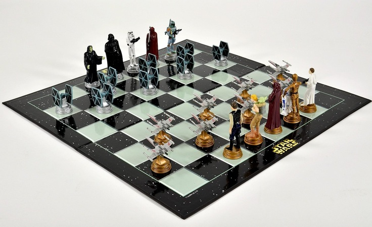 Star Wars Chess Set Interior Design Ideas