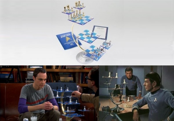 This Star Trek Tri Dimensional Chess Set made a 'Big Bang' with Sheldon Cooper!