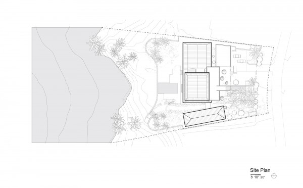 Home and landscaping plan