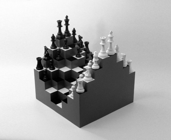 Multilevel chess, by Ji Lee.