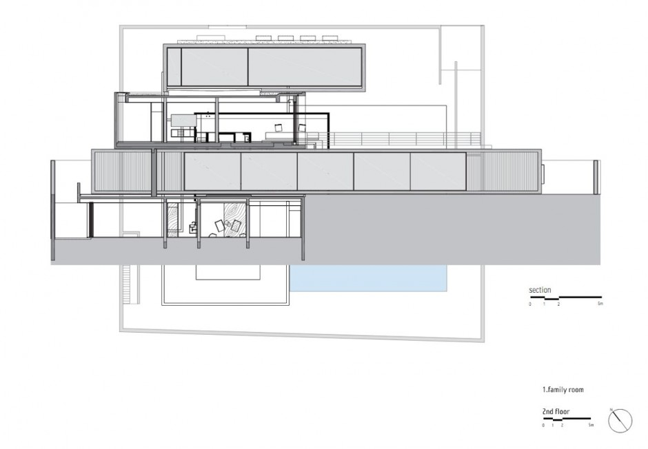 Open Layout House Concept By Studio MK - Open layout floor plans