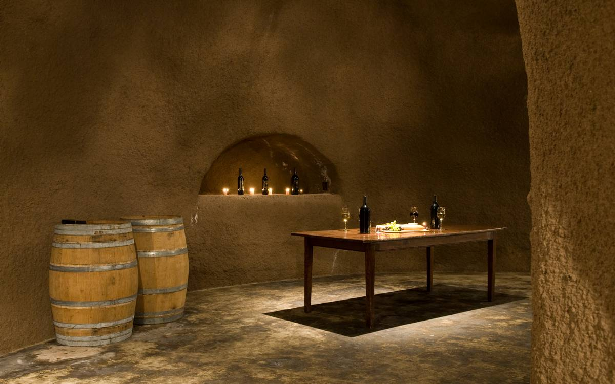 Home Wine Cellar - A serene california wine country home