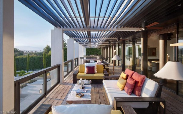 Plush lounge areas on the balconies provide further opportunity for taking in the fresh air of the Riviera.