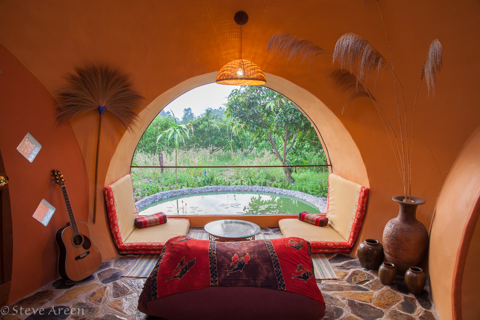 House The Ultimate Low Cost Home - Interior design dome home