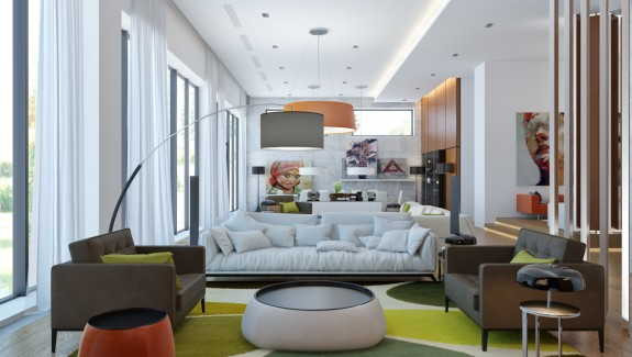 20 Terrific Living Rooms