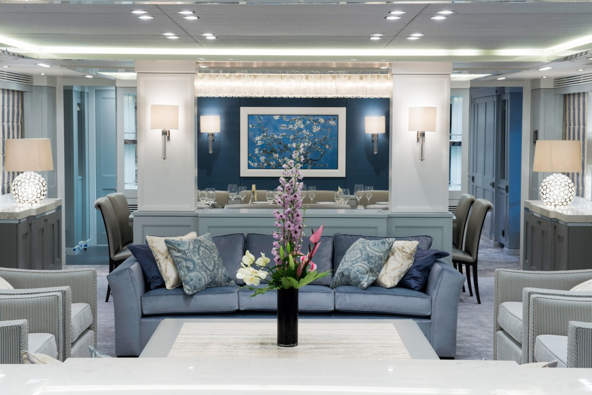 Interior decor scheme like the serene powder blue vision above