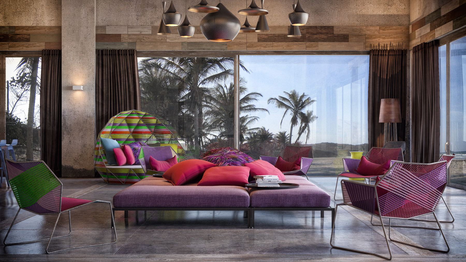 Colorful Exuberant Interior Design Inspiration From W