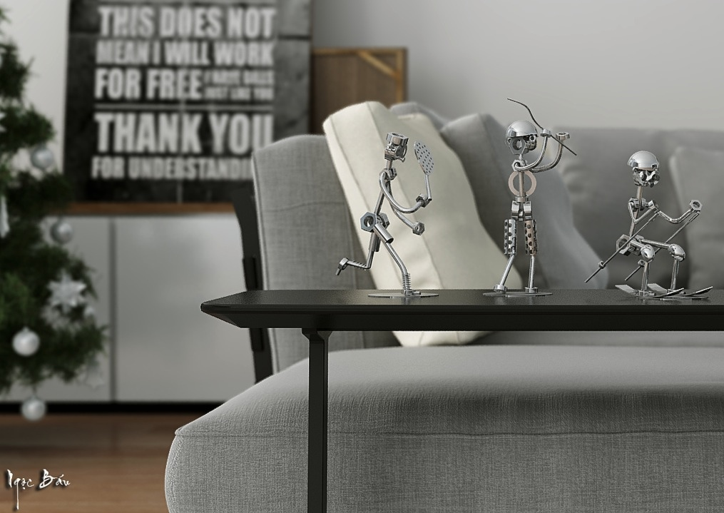 Home Accessories - Interiors with natural and rustic accents