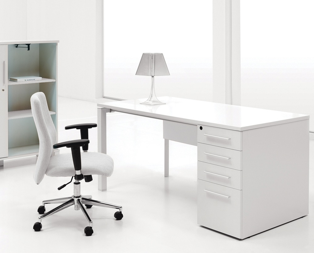 white home office desk. Like Architecture \u0026 Interior Design? Follow Us.. White Home Office Desk E