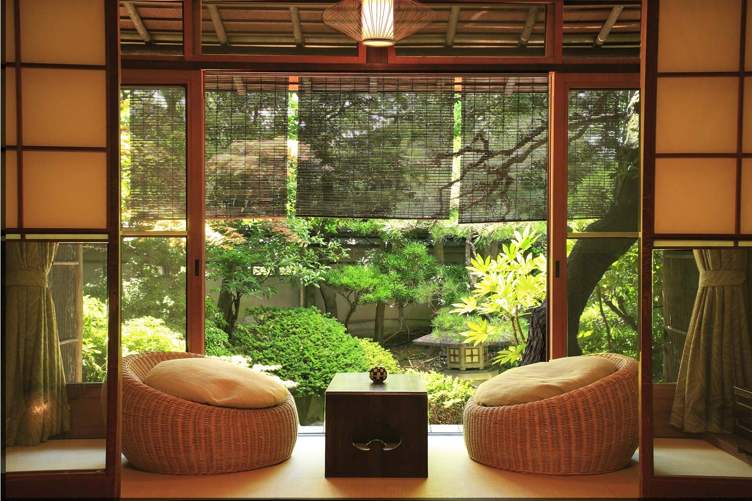 Zen garden room interior design ideas for House plans with garden room