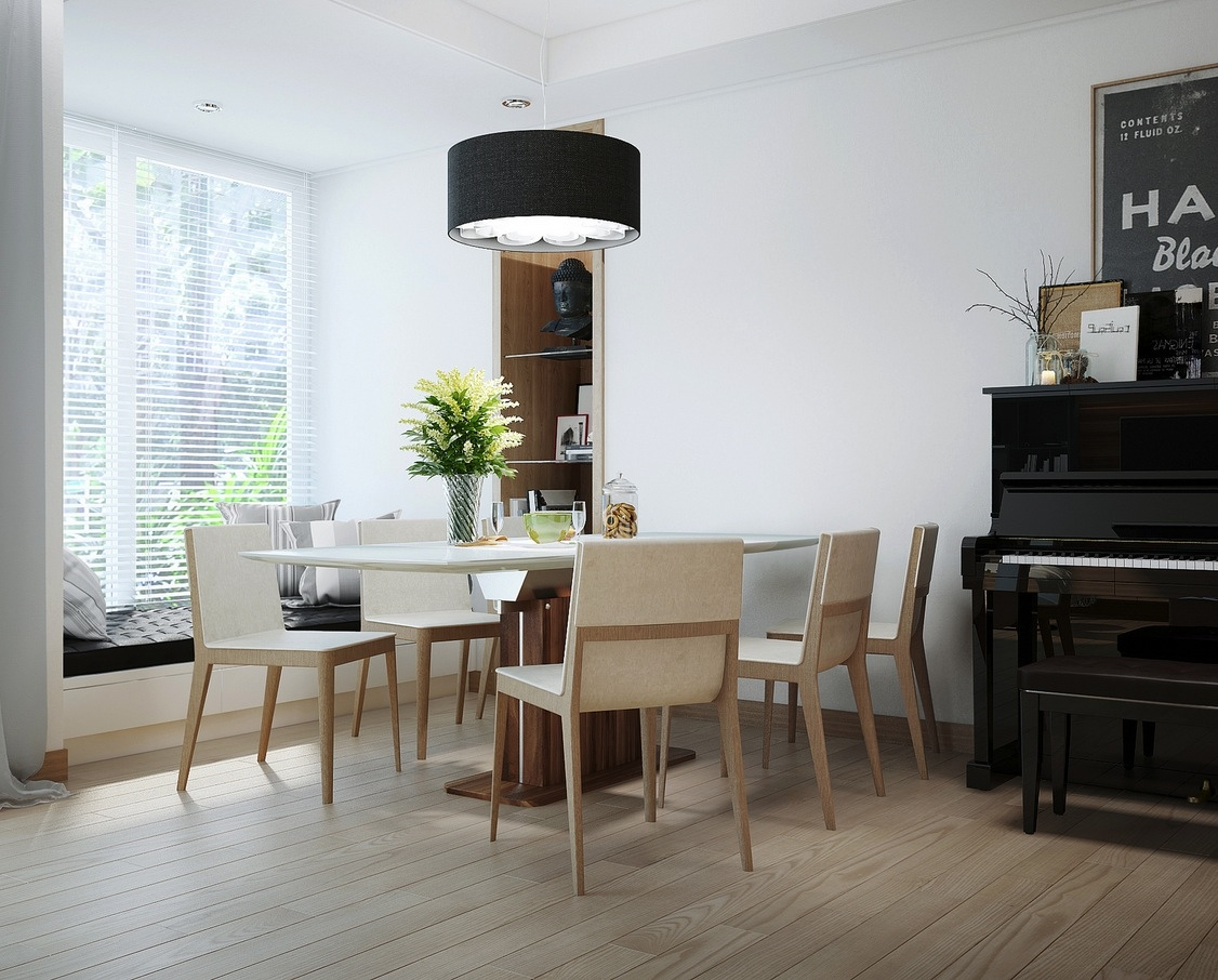 20 Dining Rooms  Visualized . Piano Dining Room Table. Home Design Ideas