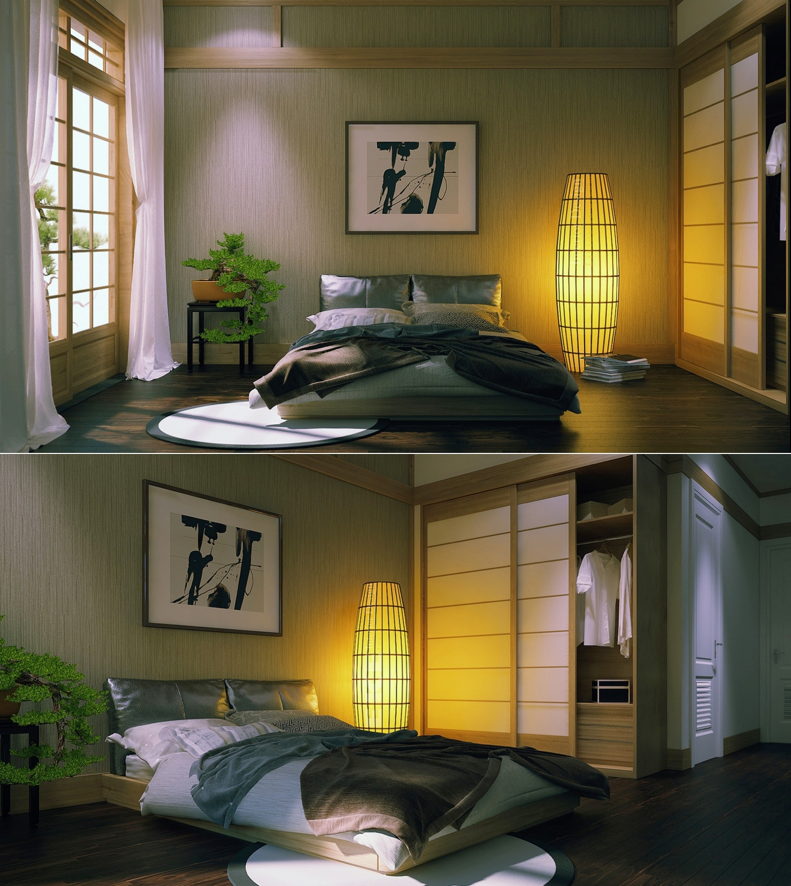 Japanese Inspired Bedroom Zen Inspired Interior Design