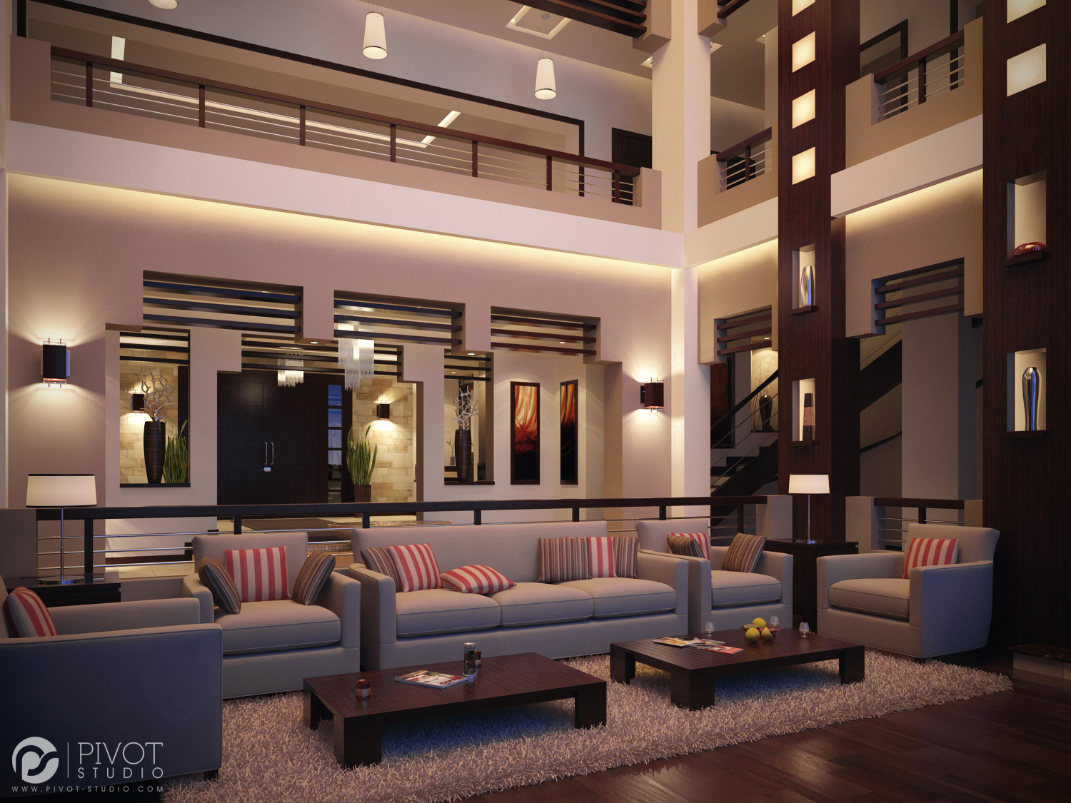 Sophisticated Home Design - Luxurious room schemes