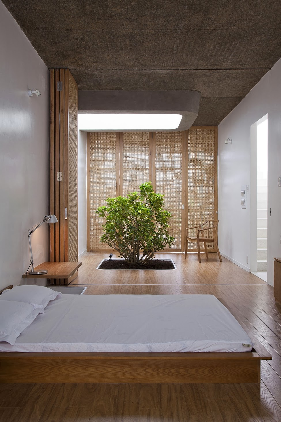 Zen inspired interior design for Japanese bedroom design