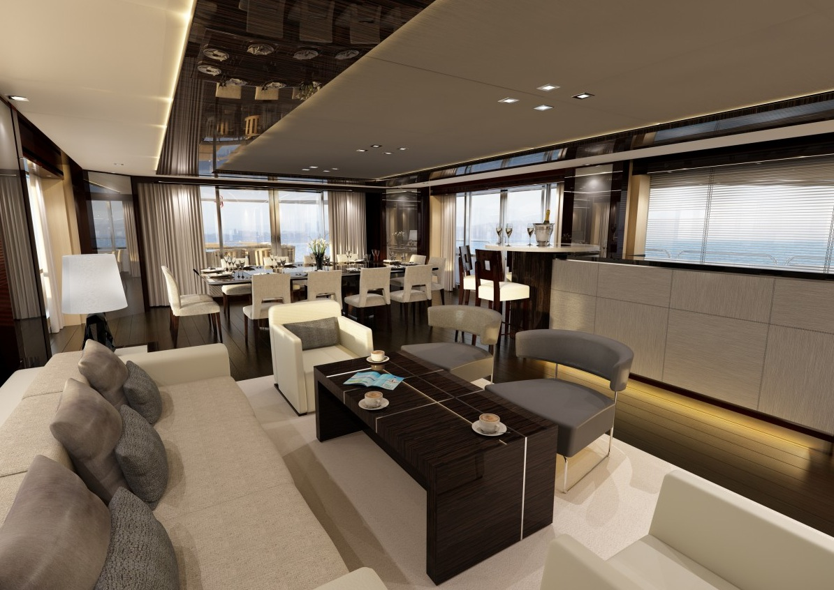 Luxury Yacht Interior Design - Luxury yacht interior design
