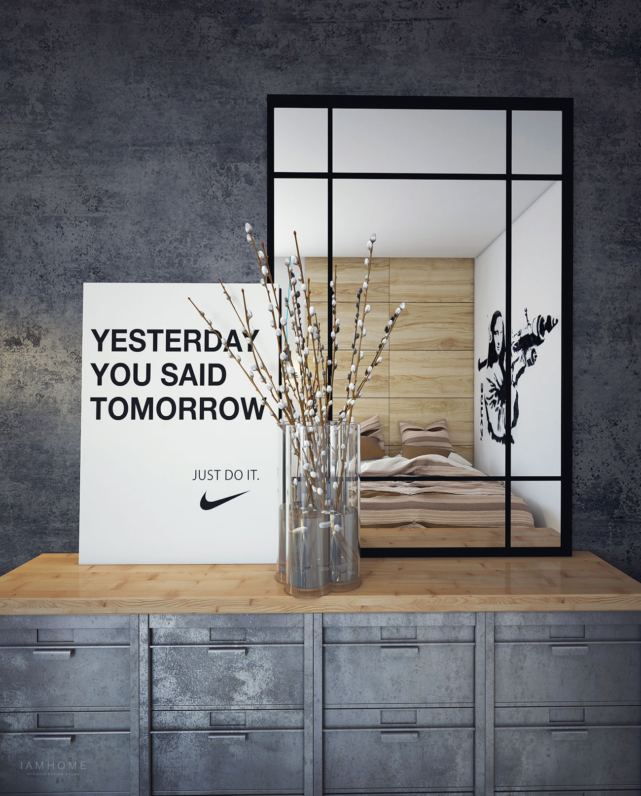 Nike poster | Interior Design Ideas.